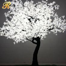 สีขาวไฟถนนledเมเปิ้ลต้นไม้