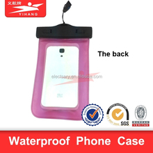 waterproof mobile phone cover For Apple iPhone 6, 5s, 5, for Galaxy S5, S4 S3, for Galaxy Note 3, MP3 Player