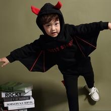 MS66211C Korean fashion bat design kids outfits clothes 2015 boy