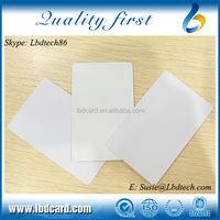 ISO Approved Type 2 13.56MHz MIFARE Ultralight C Proximity White Card for Mobile Payment Tickets