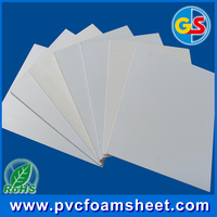 Hard High density best -selling type pvc foam sheet pvc Forex