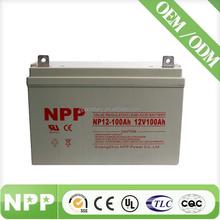 made in China maintenance free vrla battery 12v ups backup battery 12v 100ah lifepo4
