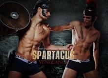 Fantastic design underwear for men warrior boxers strong men boxers