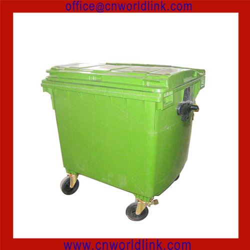 Outdoor recycling plastic wheelie green waste bin container buy waste bin container plastic - Garden waste containers ...