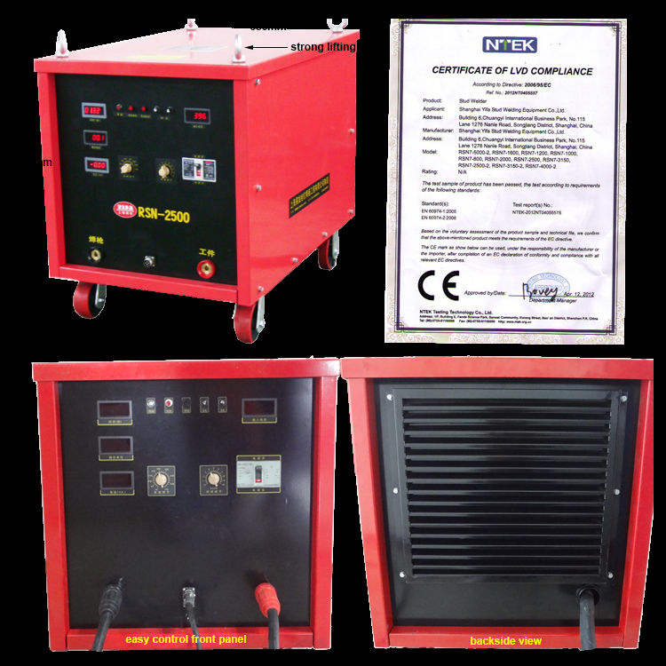 Stud Welding Machine.