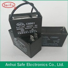 Safe CBB61 types of capacitors pictures with good shape