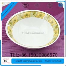 2015 newly developed ceramic polygon dinnerware set soup bowl