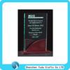 square glass acrylic award display block lucite plaque trophy stand plexiglass block