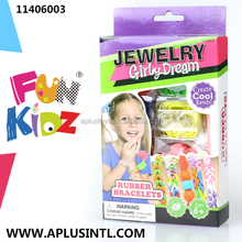Kids craft DIY Girly Dream Rubber Bracelets Kits