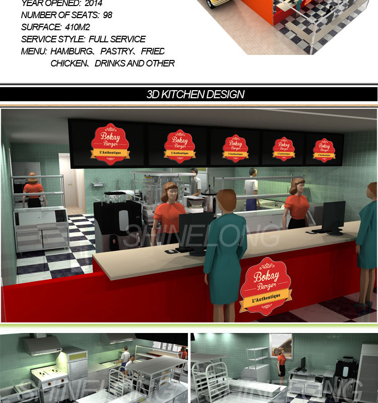Equipment Fast Food Used For Restaurant