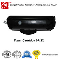 High quality compatible 2612X toner cartridge for hp 1010/1012/1015/1018/1020Plus/1022/3015/3020/3030/3050/3052/3055/M1005/M1319