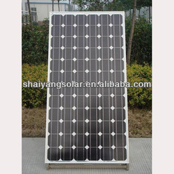 200w mono solar panel in high quality