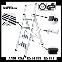 2015 hot selling safety step ladders with handrail