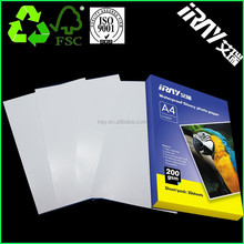 new arrival !! Double sided High Glossy wholesale Inkjet Photo Paper high quality with gift box.