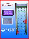 Alta sensibilidade arco detector de metais caminhada através do detector de metais xst-f33 sistemas