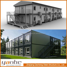 modern integrated container house cheap price luxury shipping container flat hotel