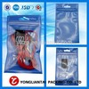 100micron hot seal bottom gusset plastic custom resealable plastic bags with printing
