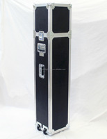 custom road microphone stand flight case for 4/12 mic stands
