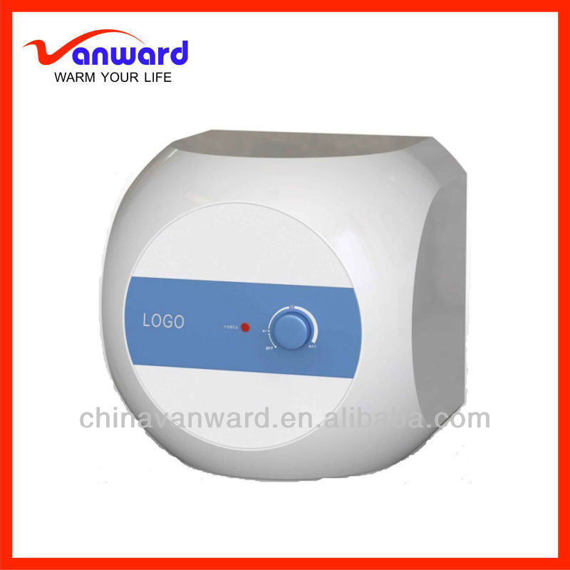 Small capacity portable electric water heater es for for Small bathroom heater