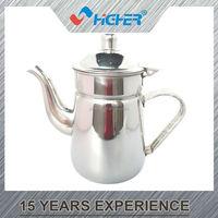 swan nozzle garden stainless steel drinking cool water jug/tea pot