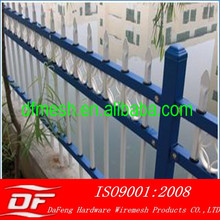 used wrought iron fence /garden fence for sale (China direct supplier)