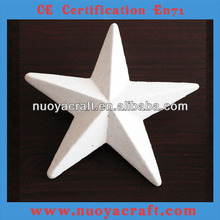 2014 best selling foam white star decoration