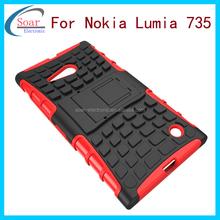 Mobile phone case cover for Nokia Lumia 735,plastic case for Nokia 735