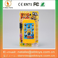 New styles cartoon touch screen phone toy with light and music