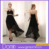 2015 Hot Fashion Sequin Lady Halter Style Women Maxi Dress