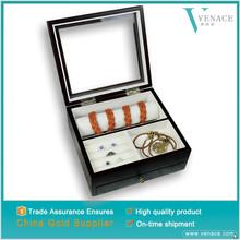 Arabic big lots hinge large body piercing jewelry wood box for ring necklace bracelet set earring