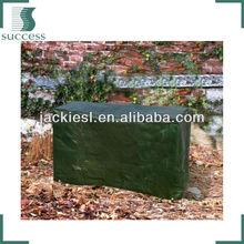 FC-13 dark green PE cloth square oven outdoor furniture cover