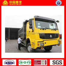 sinotruck howo dump truck 340hp Euro 4 new model for sale