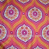 100%silk print twill silk fabric