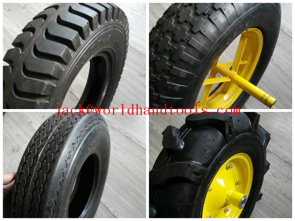 how to tell what size wheelbarrow tyre