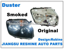 Renault Duster Head Lamp 2011-2013, DEPO Auto Lamp 260100067R/260600069R