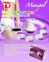 Multifunction manipol body massager relaxing your body and slimming your body as seen on tv