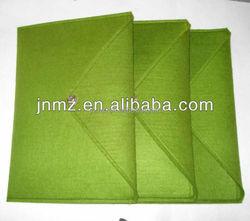 Fashion hangmade wool felt tote bag/polyester felt fabrics laptop bags