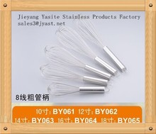As TV Show Promotion Stainless Steel Rotary Battery Operate egg Beater