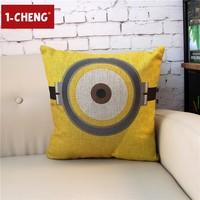Plain Cartoon Printed Cotton Cushion Cover Body Pillow Chair Seat Cushion Home Sofa Decorative Pillow Case