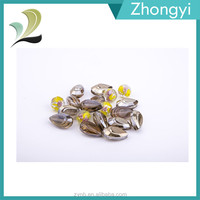 Faceted Reflective Teardrop Glass Beads in Bulk 20mm for Necklace DIY