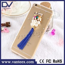 DIY toy phone case for iphone 6 mobile phone case back cover case housing