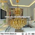 C98152b de cristal acrílico marco de la luz, clásico colgante de cristal de la luz, centros de mesa de cristal con luces