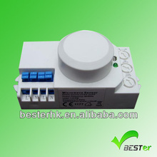 Garage and Bank used time delay power saving intelligent Microwave sensor switch