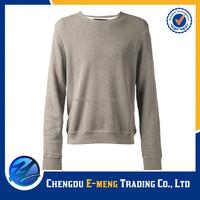 Custom thick cotton blank men women pullover hoodie
