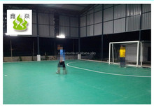 Indoor soccer/football courts pvc sports flooring manufacturer