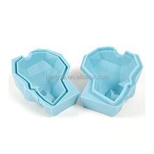 New single skull ice cube mold, larger skull ice cube tray, silicone skull ice box with gift box