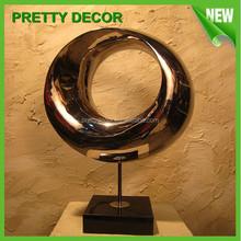 Metal Popular sculpture/ Nice Indoor Decoration statue