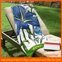 OEM custom printed beach towel sarong