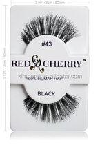 2014 all kinds false eyelashes red cherry strip eyelash