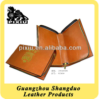 Mannufacture Low Price High Quality Portfolio Leather Briefcase